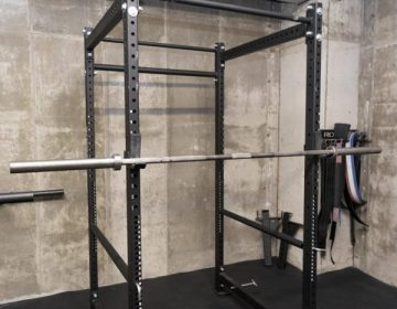 Image of a Barbell and Power Rack