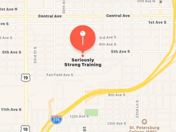 Seriously Strong Training Map